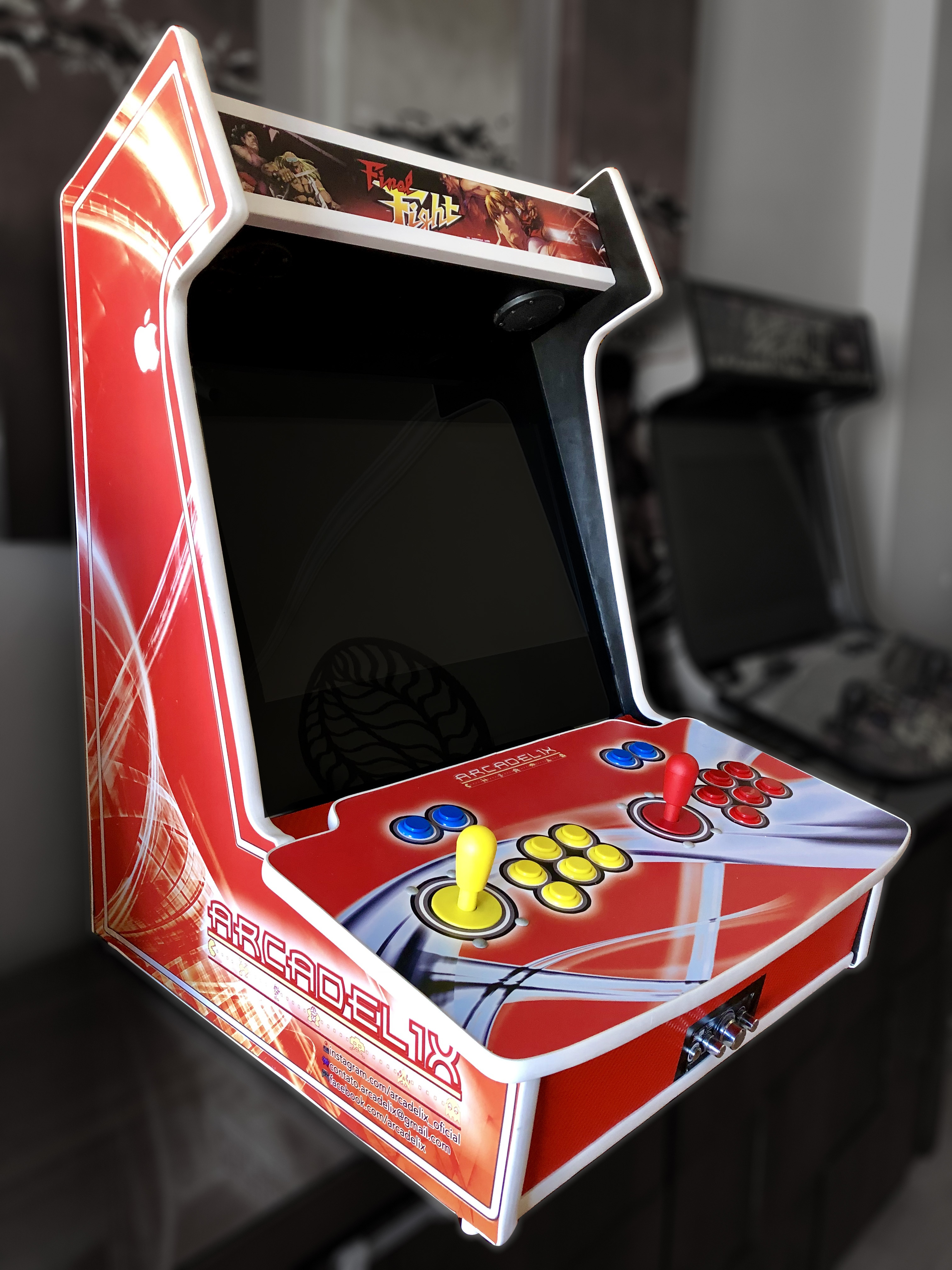Fliperama Arcade Evo XL Arcadelix – tela 22″ widescreen post thumbnail image